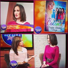 Childen's book author. On a TV Show