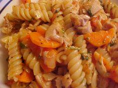 Fusilli au poulet et légumes à la portugaise (Massada)
