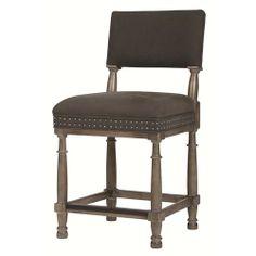 Bernhardt Belgian Oak Transitional Counter Stool with Timeless Modern Style - Belfort Furniture - Bar Stool Washington DC, Northern Virginia, Maryland and Fairfax VA