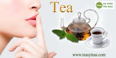 Tea can also help reduce sebum production, bacterial growth and inflammation of the skin. http://www.teasyteas.com/