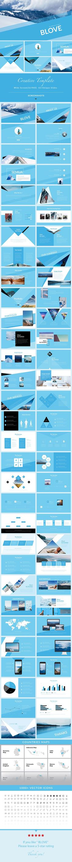 Blove - PowerPoint Presentation Template - Creative PowerPoint Templates