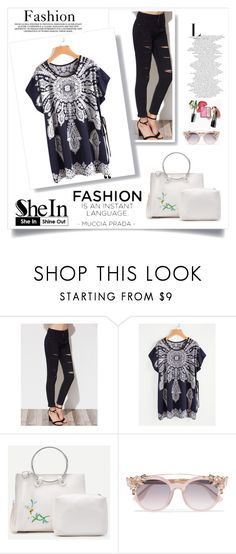 """Shein 1"" by ajisa-ikanovic ❤ liked on Polyvore featuring Jimmy Choo and vintage"
