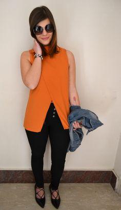 Print Crop Jacket Shein , Shoes BiancaDi,Cross Split Blouse