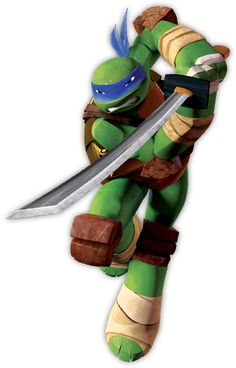 Leonardo Biography - He is the oldest of the Ninja Turtles, and is the leader of the group. A master with the katana and his ninjutsu skills. Check out TMNT Leonardo Bio.
