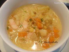 Šošovicová polievka so zeleninkou - recept | Varecha.sk