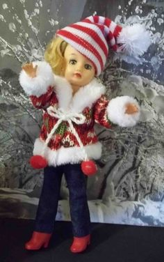 LITTLE MISS REVLON ~ JILL...READY FOR SNOW!! in Dolls & Bears, Dolls, By Brand, Company, Character, Ideal, Revlon   eBay