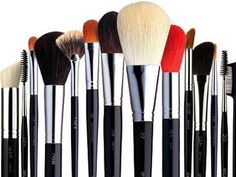 Excellent guide to makeup brushes with cheaper alternatives for each brush.