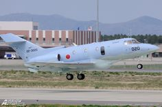British Aerospace U-125A (BAe-125-800SM), Japan Air Self Defence Force (JASDF). Hyakuri Air Base, Japan, 15th of April 2013. Stated the aircraft used for Search & Rescue purposes, though despite political correctness, trying to state it is a self defence force, the aircraft is basically a maritime reconnaissance aircraft.