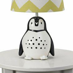 Penguin Lamp Base - dang, I want this!
