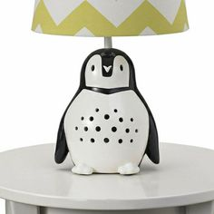 Penguin Lamp Base - dang, I want this!
