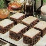 Cukrovi na Vanoce: Polévané kakaové řezy