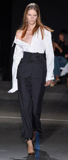 Desfile New York Fashion Week PrimaveraVero 2017 Mouse Destaques  Fragmentos de Moda
