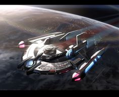 alphamecha:Federation Escort by Webcomicfan