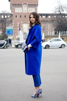 Winter Looks from Streets of Milan