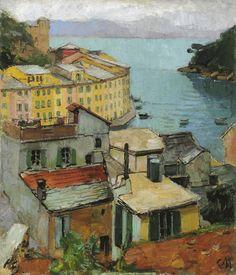 CARL MOLL (1861-1945) Portofino, 1928/29