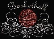 baseketball mom - - Rhinestone hot fix Iron on Bling Transfers - DIY applique on Etsy, $8.99