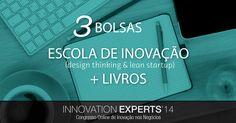 Participe do Sorteio do Innovation Experts'14 e Concorra a Bolsas de Estudo + Livros
