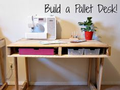 Decor Pallet Desk