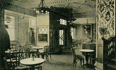 Berlin, Cafe Josty am Potsdamer Platz, um 1889.                                                                                                                                                                                 Mehr