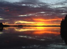 Sunset at Punkaharju, Finland Midnight Sun, Celestial, Sunset, Nature, Outdoor, Finland, Outdoors, Sunsets, Outdoor Games