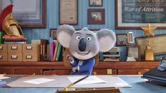 Koala Buster Moon Sing 2016 Movie Wallpaper