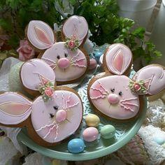 Teri Pringle Wood. Easter bunny.