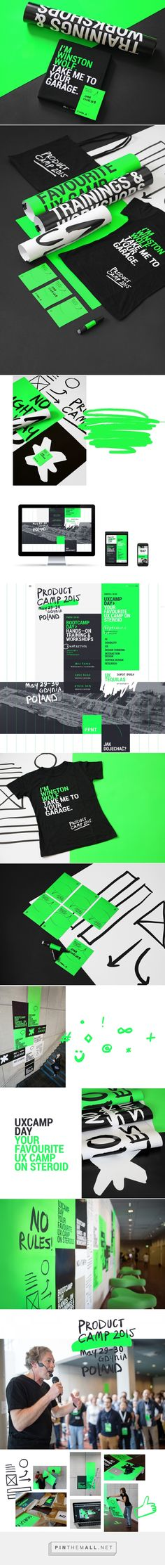 product camp 2015 on Behance - created via http://pinthemall.net
