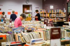 Visit the Book Sale today from 10 a.m. to 8 p.m., Fri. 10 a.m. to 5 p.m. & Sat. 10 a.m. to 2 p.m.