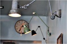 Fixtures Industrial Lighting, Vintage Lighting, Cool Lighting, Task Lighting, Modern Industrial, Industrial Design, Industrial Industry, Hallway Lighting, Industrial Office