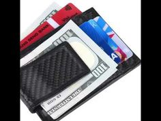 KINZD Money Clip, Front Pocket Wallet WITH RFID Blocking