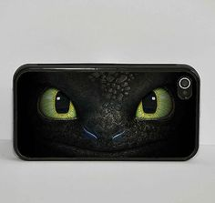 Toothless Night Fury Dragon Cartoon Phone Case fits Apple Iphone 4 4s 5 5s 5c in Mobile Phones & Communication | eBay