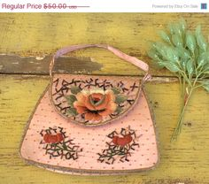 Vintage 1920s 1930s Beaded Purse Vintage by SassySisterVintage, $40.00