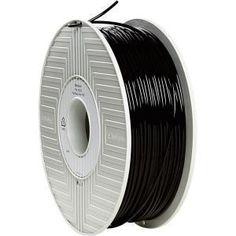 Verbatim 55259 PLA Printer Filament Reel Black for sale online Printing Supplies, 3d Printer Supplies, 3d Printing, 3d Filament, 3d Printer Filament, Best 3d Printer, Hp Printer, Impression 3d, Zebra Printer
