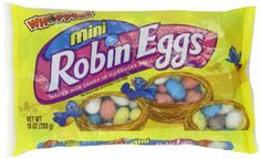 Mini Robin Eggs Candy, 10-Ounce Bag (Pack of 2) Whoppers