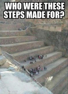 Ancient aliens 79868593371826532 - Chronicles The height of these steps are crazy … makes one believe in giants of the legends Source by blossomandbev Ancient Aliens, Ancient History, European History, American History, Weird Facts, Fun Facts, Terre Plate, Nephilim Giants, History Facts