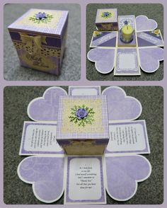 Female Birthday Box Card ( My TLC Handmade Cards TD. )