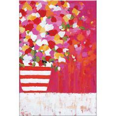 Des fleurs et des couleurs : voilà tout ce dont votre intérieur a besoin. Orné d'un bouquet d'anémones bleutées, ce décor mural agrémente votre pièce...