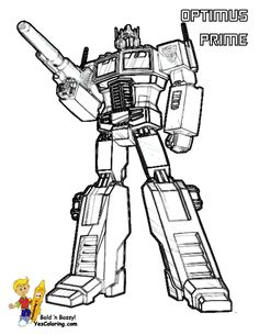 Transformers Printable Coloring Pages free printable coloring