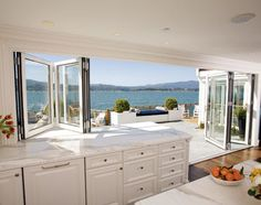 kitchens that open onto a deck - Google Search