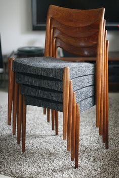 Rastad og Relling Bambi stoler 1959   FINN.no Bambi, Scandinavian Design, Teak, Stool, Retro, Furniture, Home Decor, Decoration Home, Room Decor