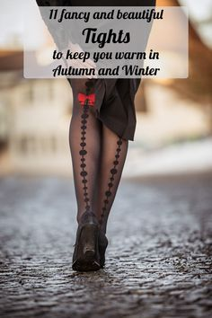 Tip from vintage blogger RetroCat: 11 Fancy and beautiful Tights to keep you warm in Autumn and Winter
