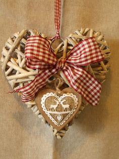 Country Heart - CUORI IN VIMINI  COUNTRY on blomming.com #hearts #sanvalentine #sanvalentino