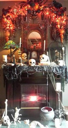 Click this pin to see the hauntingly beautiful setting William L. entered in Grandin Road's Spooky Decor Photo Challenge.