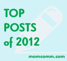 Momcomm Top Posts of 2012