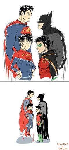 (BruceTopsClark & DamianTopsJon) 这样的话确实就说得通了【