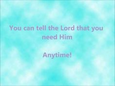 Colin Buchanan - You Can Tell The Lord That You Love Him - W Lyrics - YouTube