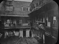 The George Inn survives as one of London's last remaining medieval coaching Inns that Dickens refers to in Little Dorrit and would have visited himself. Unfortunately half of the Inn was knocked down to make way for warehousing to serve the new railway but you can still enjoy a drink in the coffee room in the middle bar where Dickens would have drank.