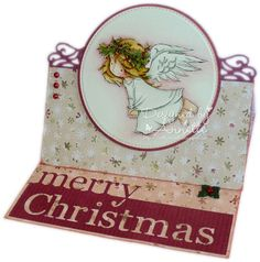 LOTV - Christmas Angels Flying by Annette Connelly Christmas Angels, All Things Christmas, Christmas Crafts, Merry Christmas, Xmas, Angel Flying, Fall Cards, Digi Stamps, Lily Of The Valley