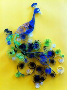 Quilling paper is so much fun to work with...