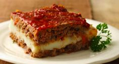 Husband Friendly Healthy Layered Meatloaf
